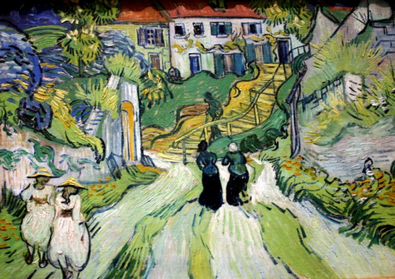 """O dia está bom para ir a Auvers Sur Oise, a cidadezinha """"gravemente bela"""" eternizada por VanGogh"""