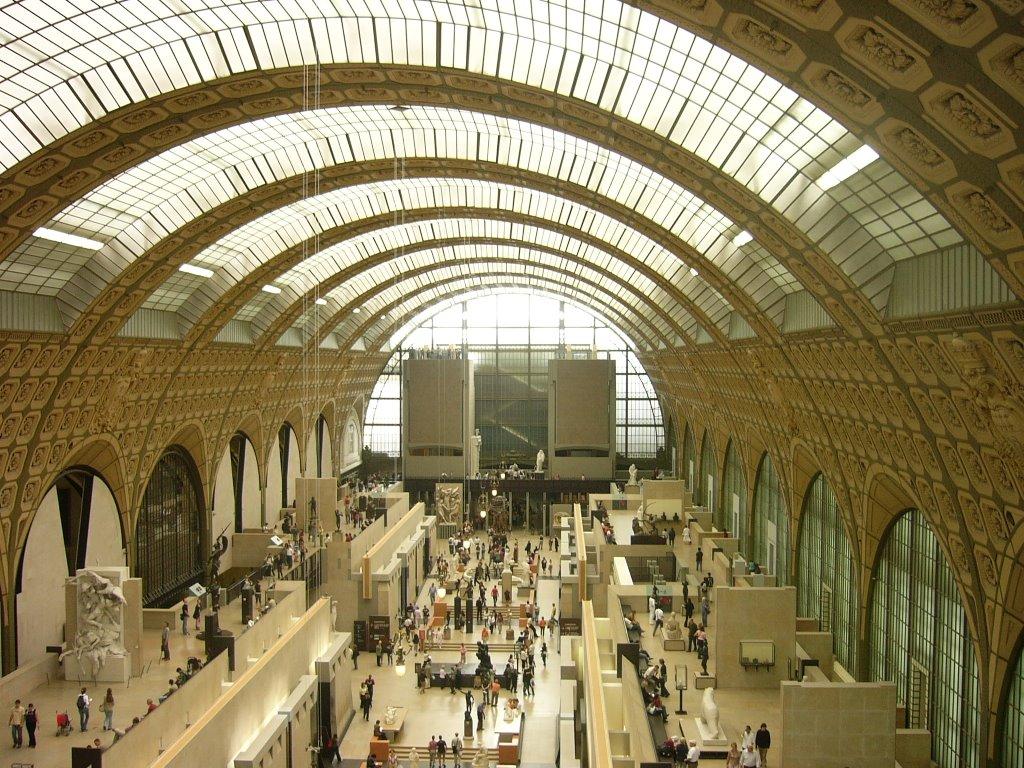 O dia está bom pra visitar o Musée D'Orsay, emParis