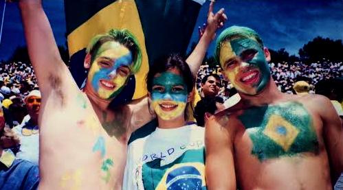 O dia está bom pra assistir Brasil xCamarões